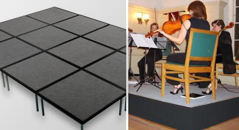 image of school staging by www.active4staging.co.uk on www.activevisuals.co.uk