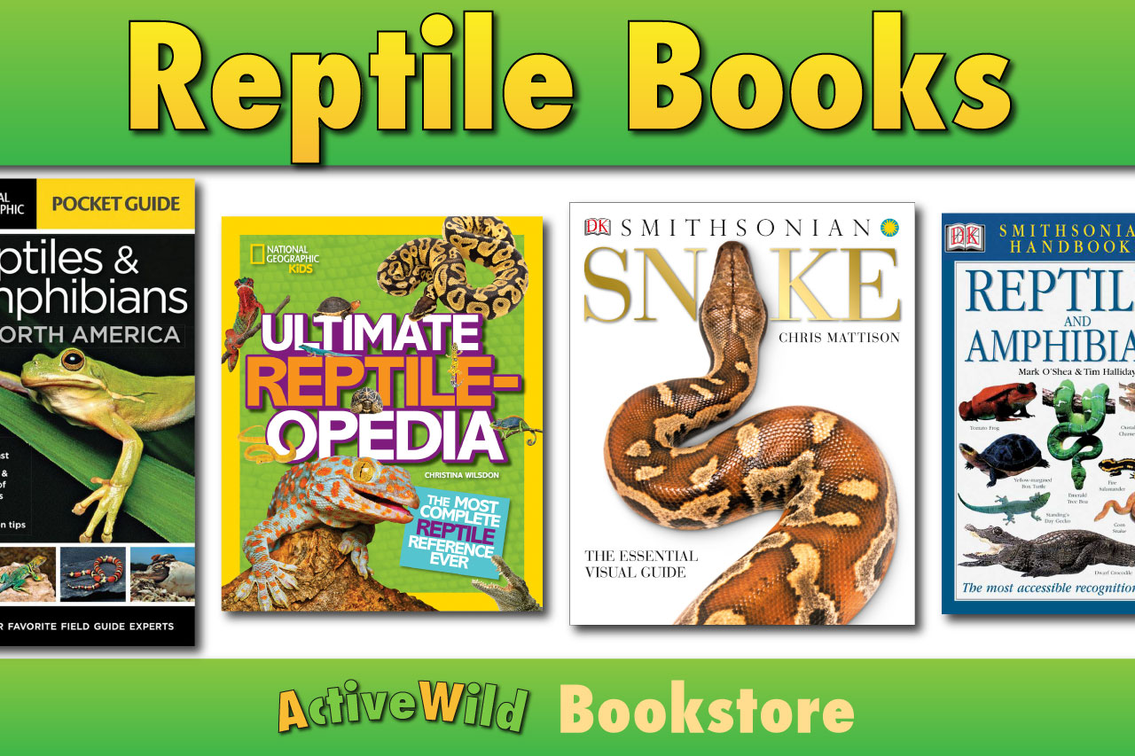 Reptile Books For Kids Amp Adults Books On Snakes Lizards