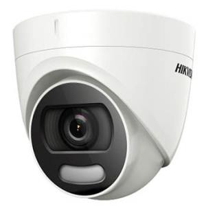 HIKVISION COLORVU 2MP HD COLOR NIGHTVISION DOME CCTV CAMERA (DS-2CE72DFT-PF)