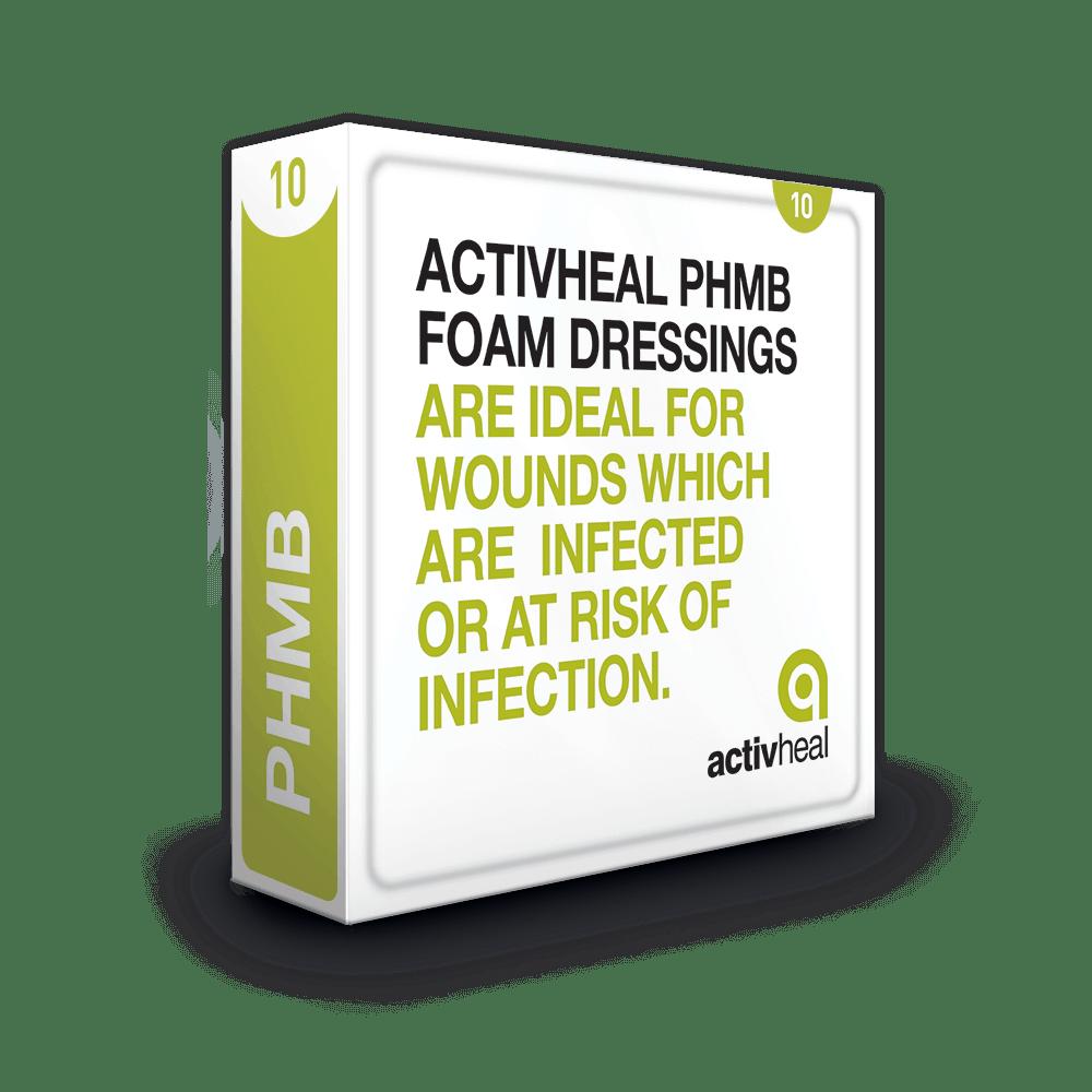 ActivHeal PHMB Foam Dressing Packaging