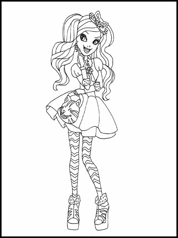 Dibujos Para Nios Ever After High 5