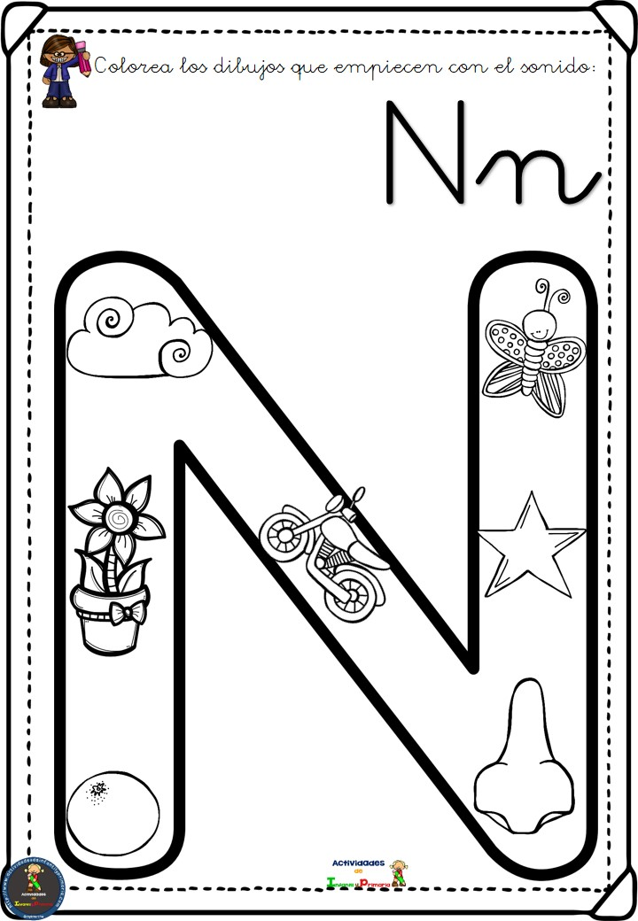 Completo alfabeto para colorear (14)