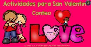 Actividades para San Valentín – Conteo