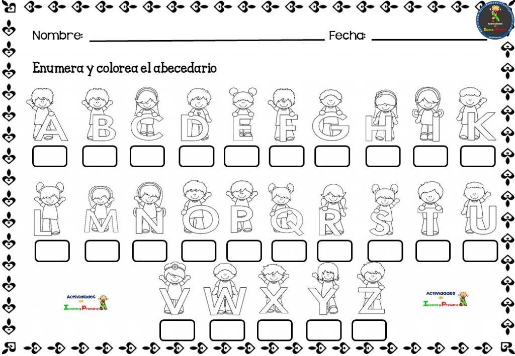 El alfabeto español- recursos - teoría - imprimibles pdf
