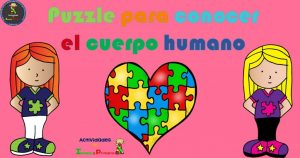 Puzzle para conocer el cuerpo humano
