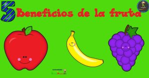 Carteles 5 Beneficios por lo que comer fruta