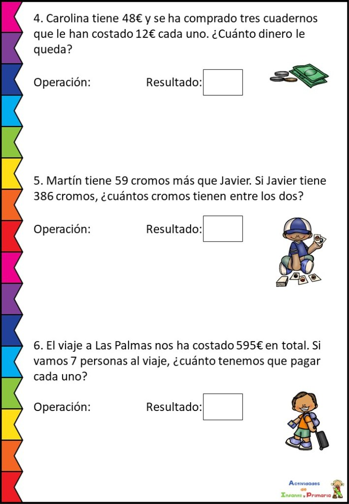 Coleccion De Problemas Matematicos Segundo Ciclo Primaria Orientacion Andujar