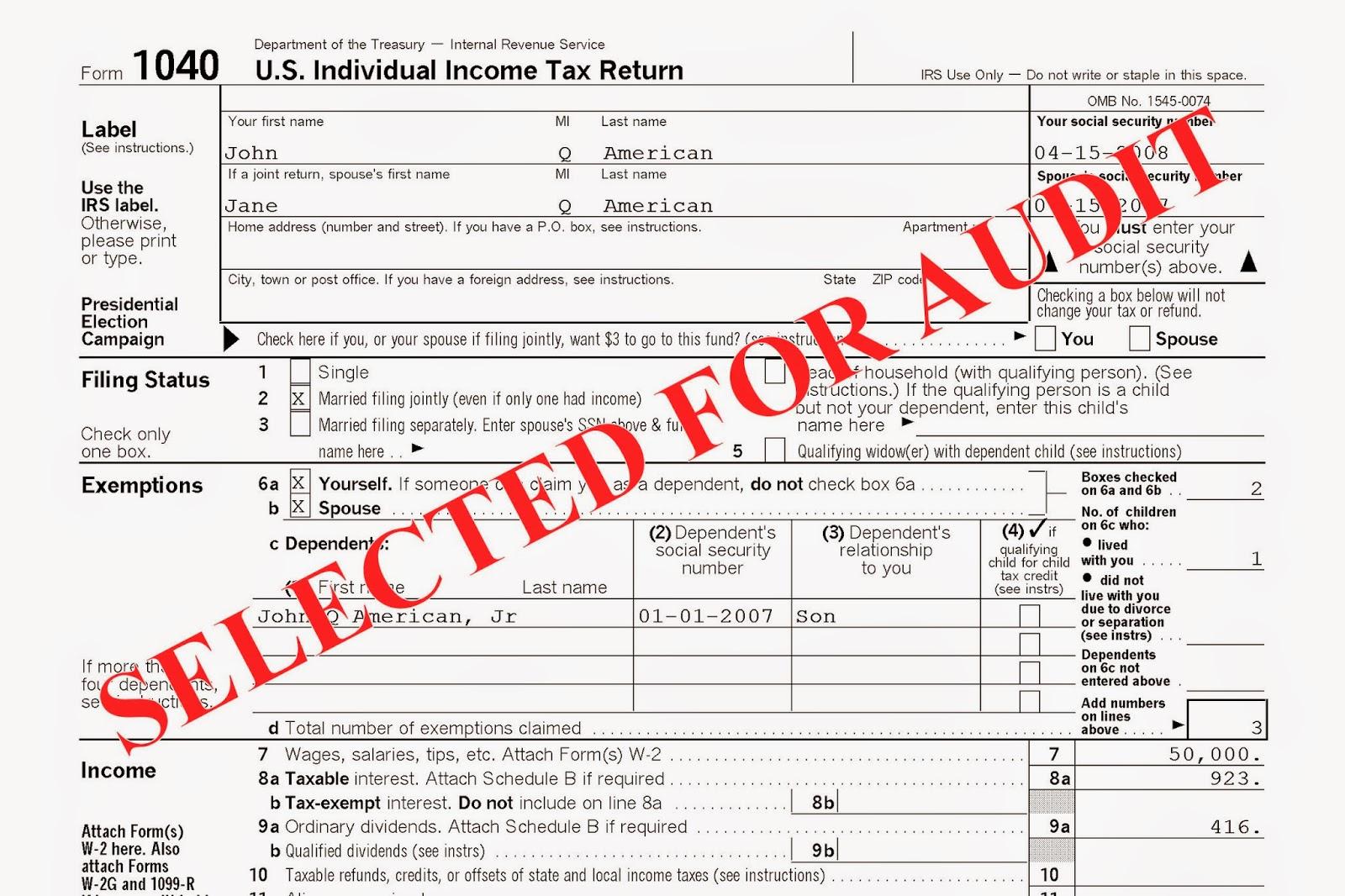 Fear Of Irs Tax Audits Diminish