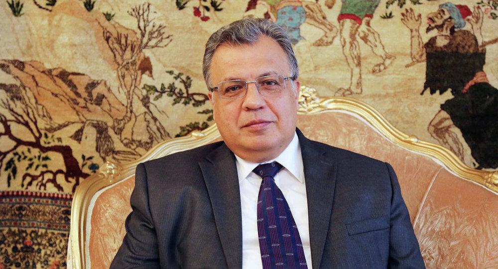 Russian Ambassador Andrei Karlov