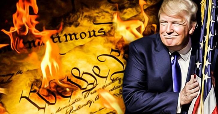 Image result for trump violation constitution