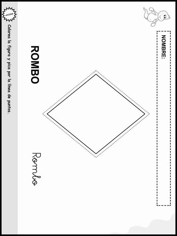 Printable Worksheets For Kids Coloring Objects To Learn