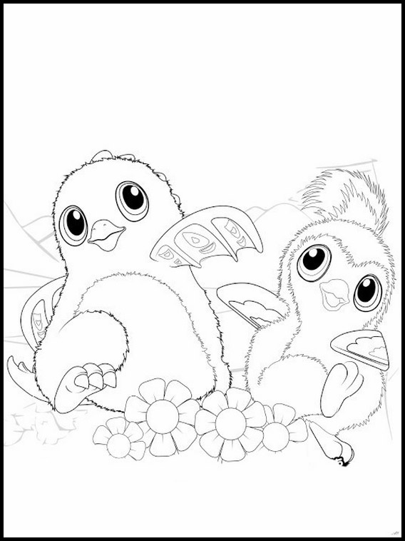 Hatchimals Coloring Book 2