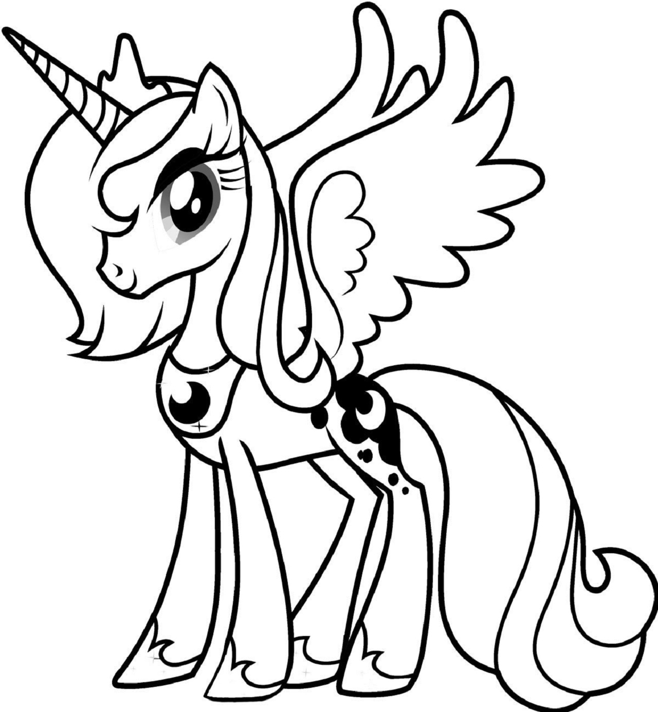 My Little Pony Coloring Pages Printable