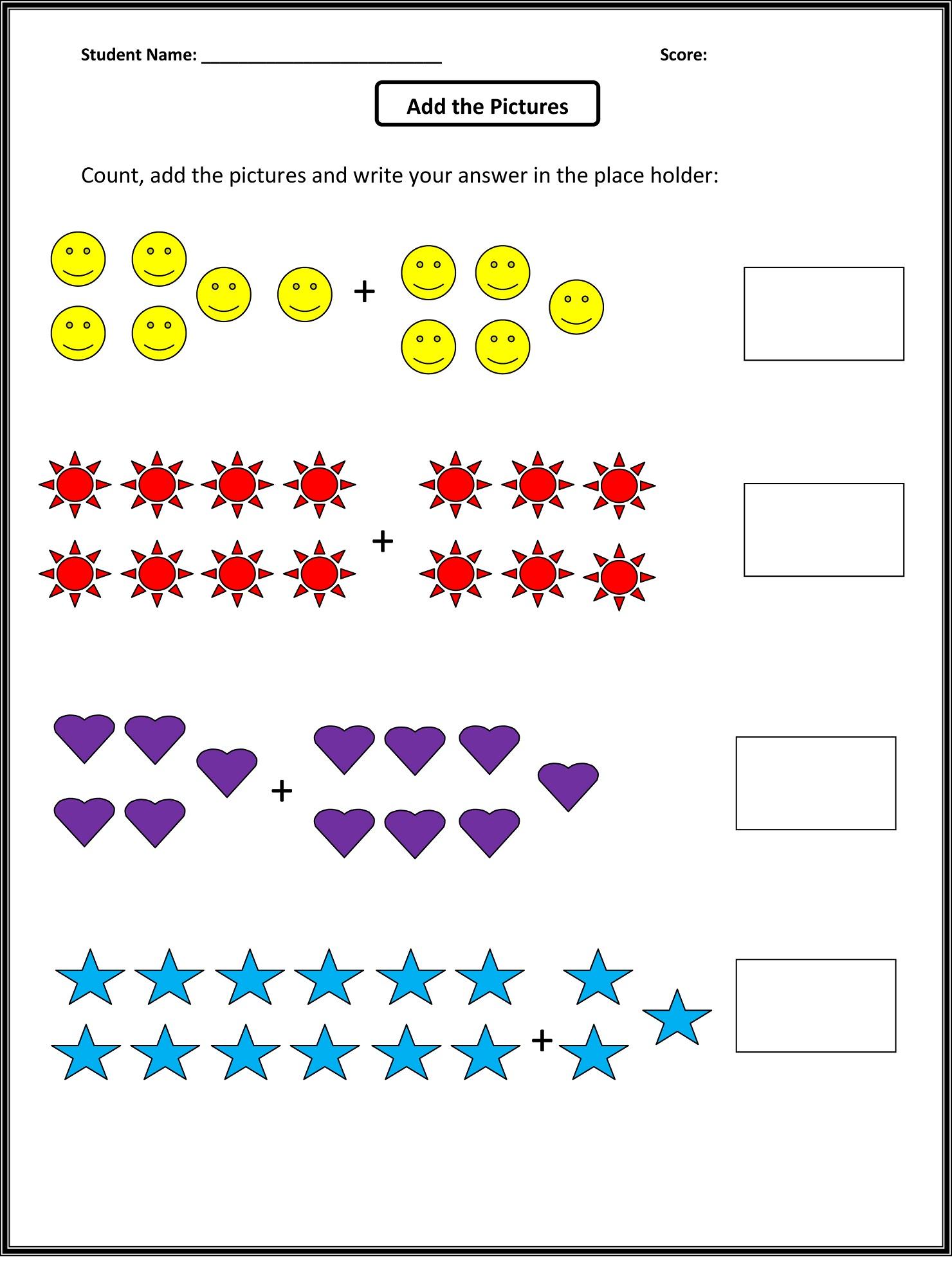 Christmas Worksheet Grade 1