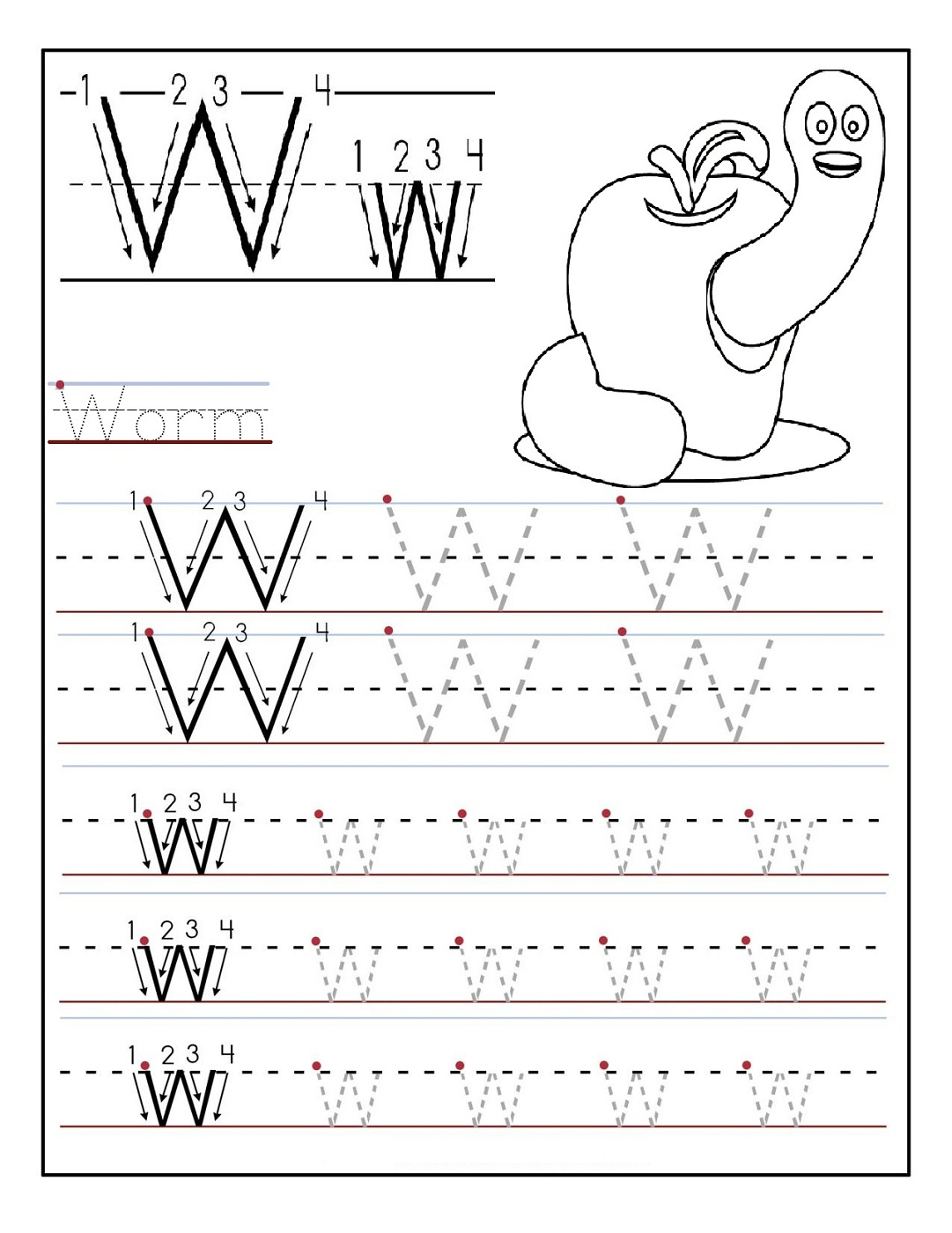 78 Kindergarten Worksheets Writing Alphabet