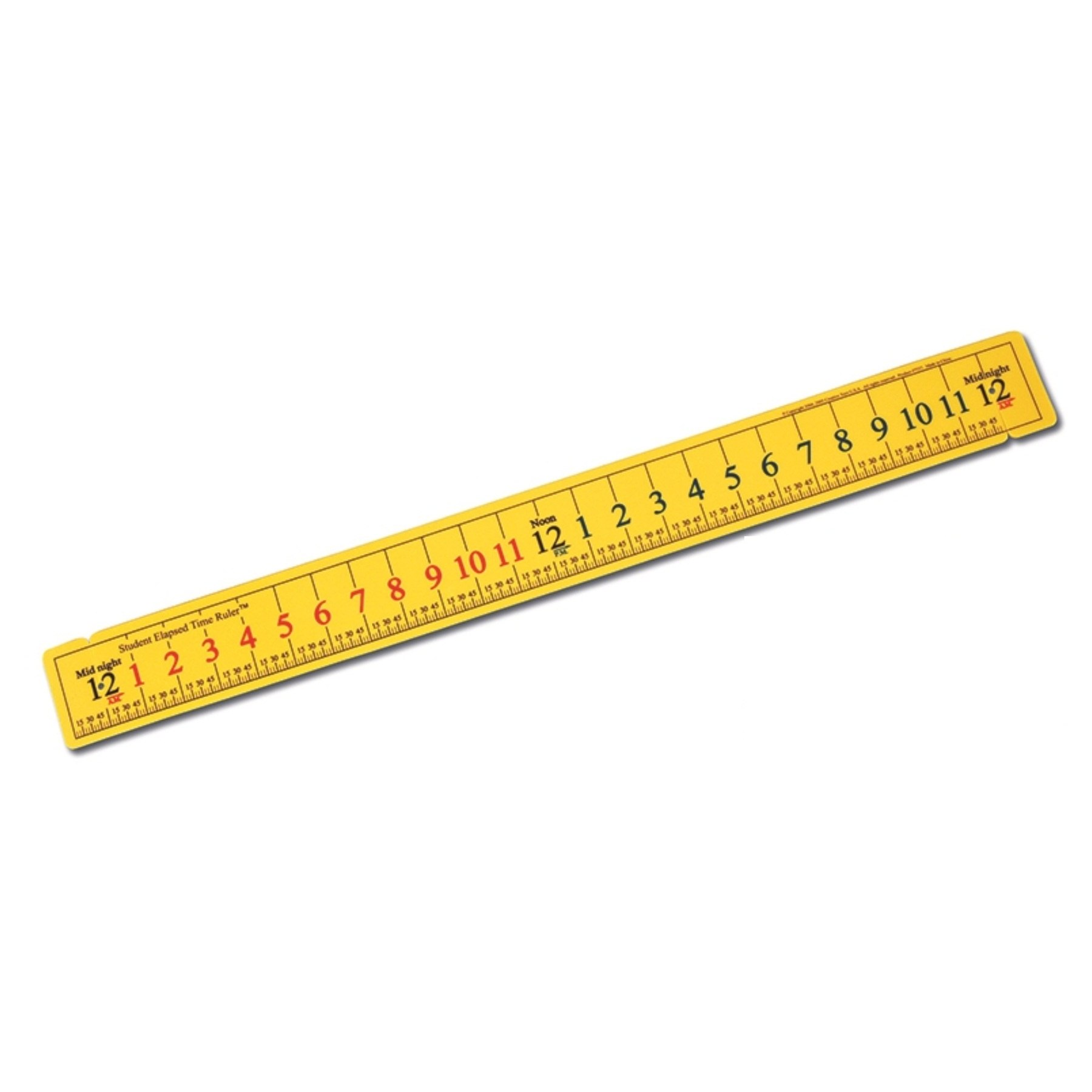 Elapsed Time Ruler To Print