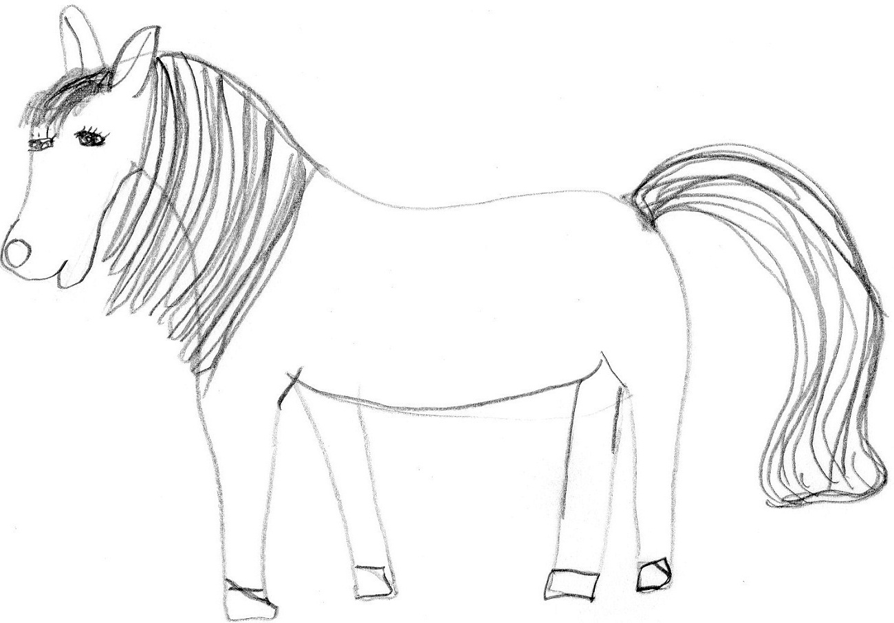 Horse Pictures For Kids Printable