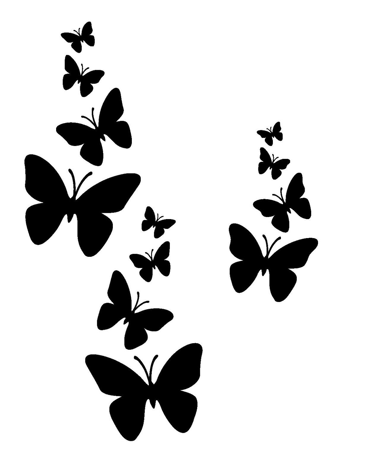 Printable Stencils With Simple Design