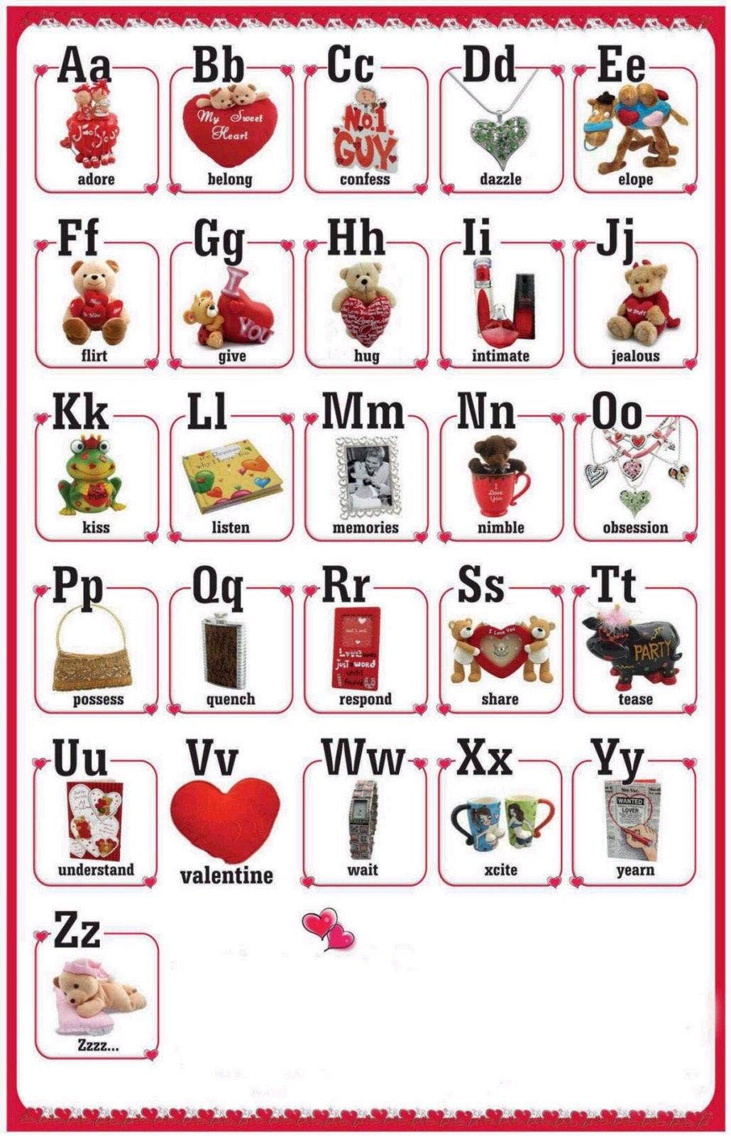 Alphabet Printable For Preschool