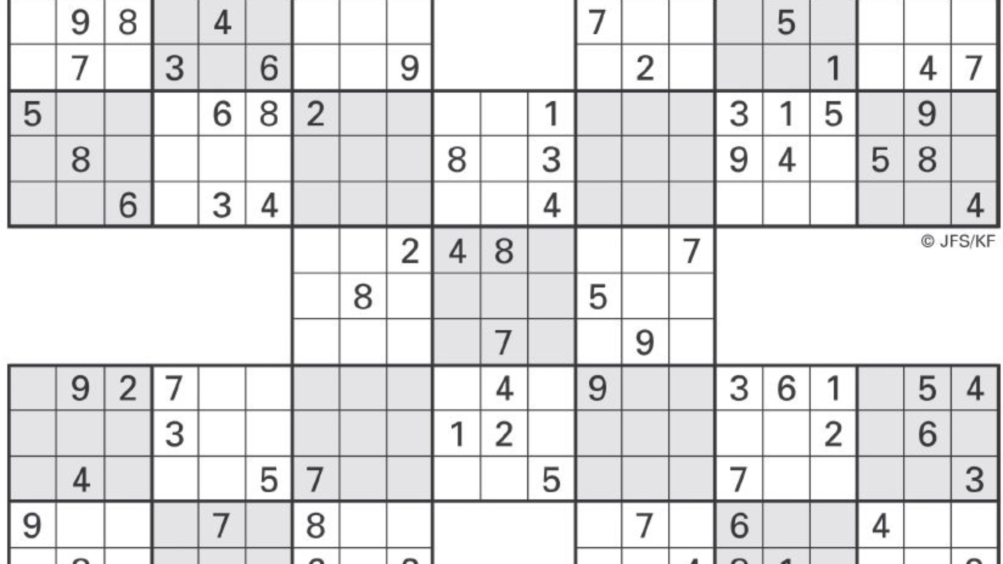 Sudoku High Fives