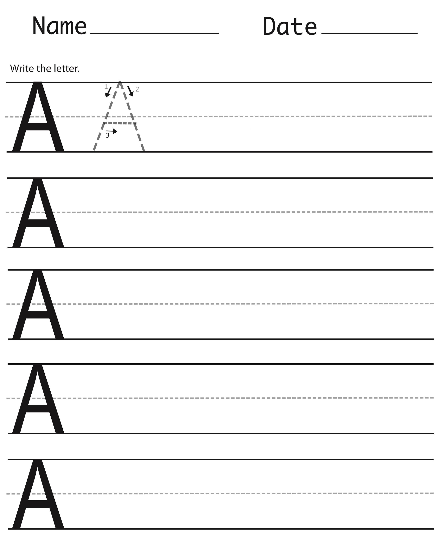 Alphabet Capital Letters