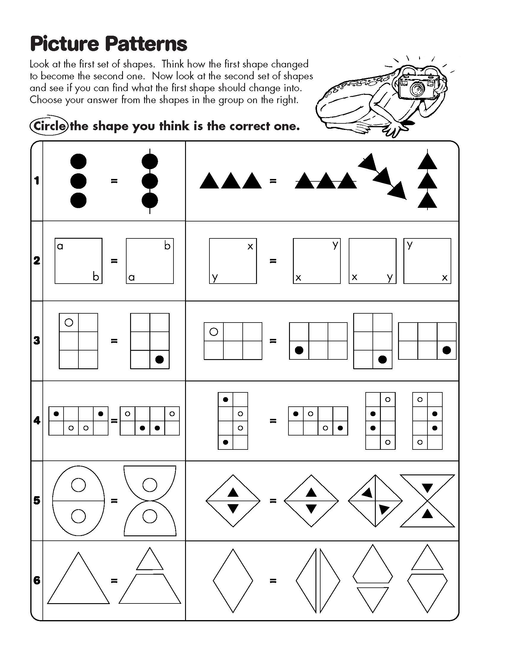 Mathogies Worksheets
