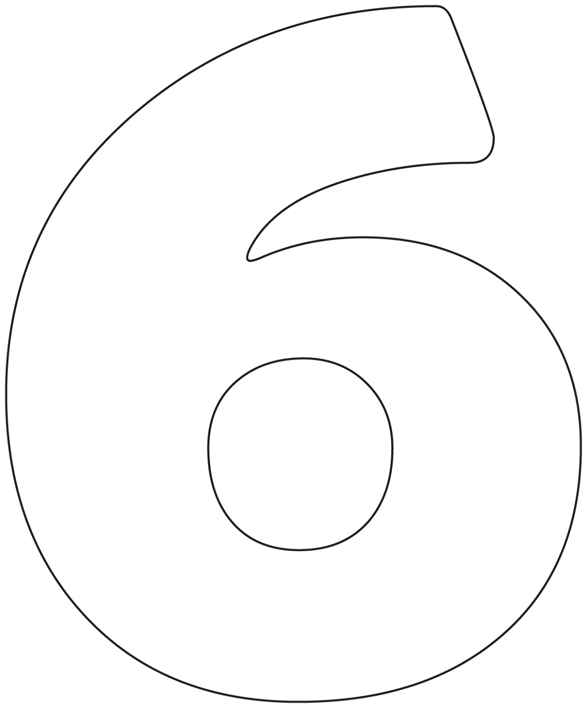 Pictures Of Number 6 For Children