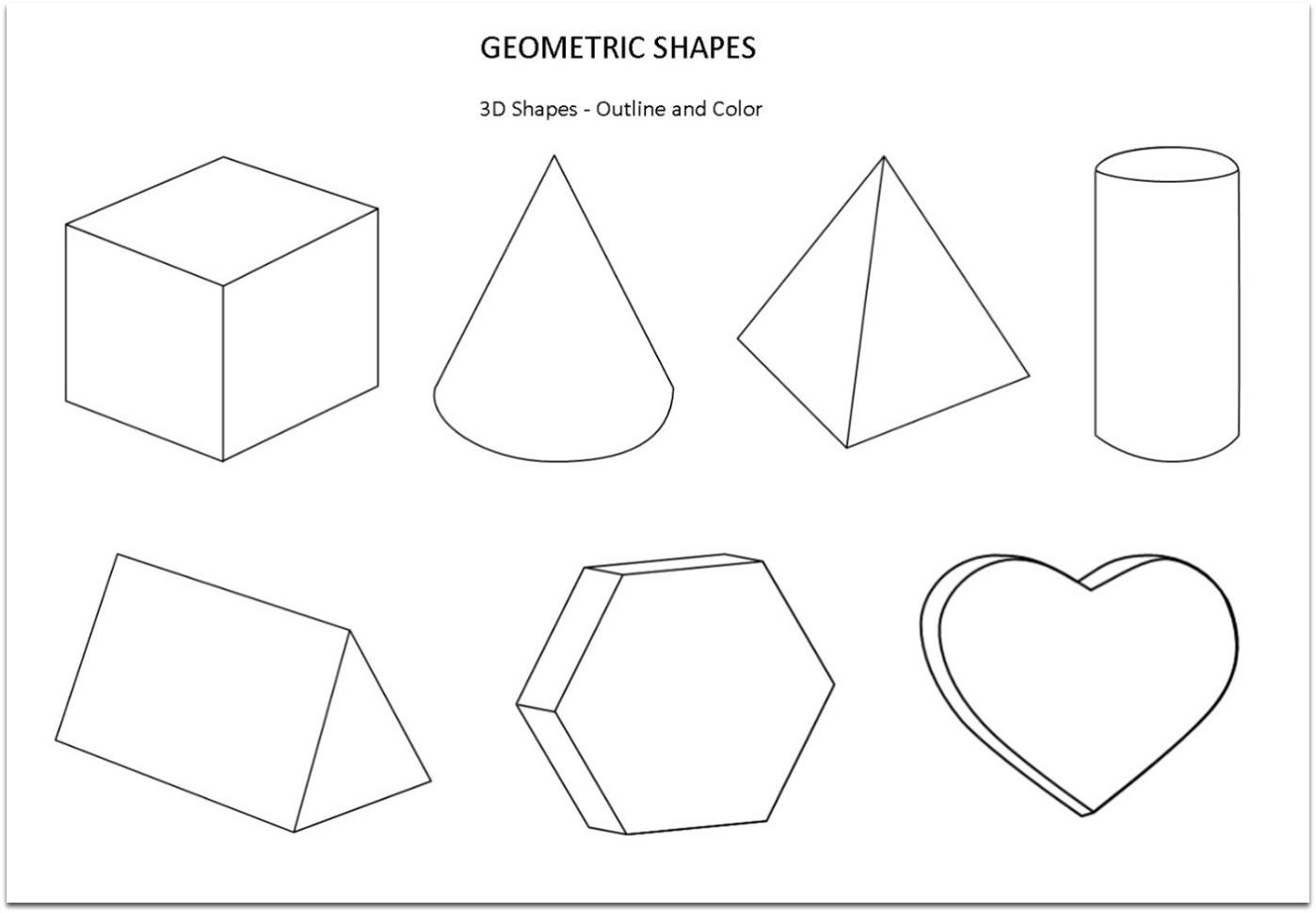 Printable Shape Nets