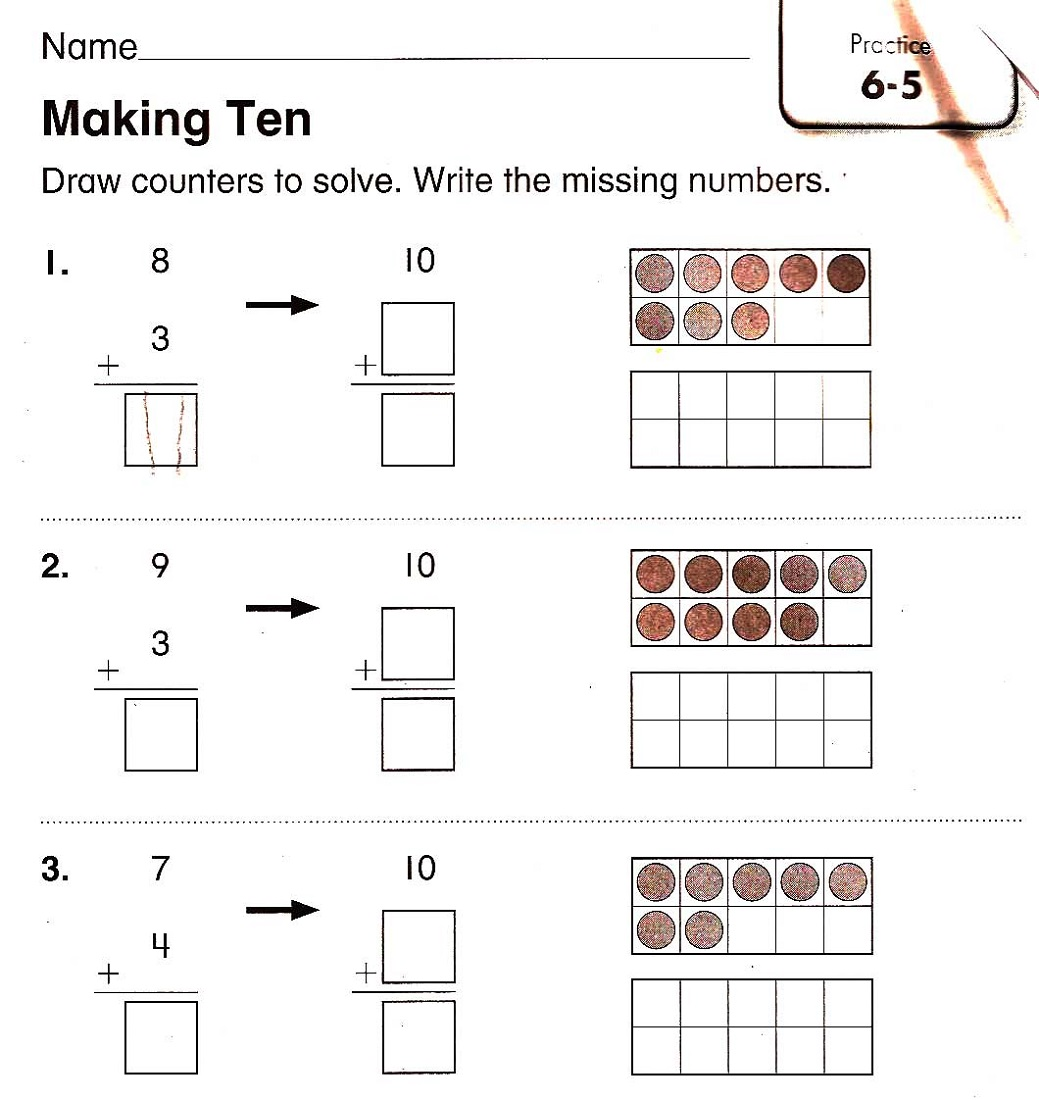 Tracing Worksheets For 4 Year Olds