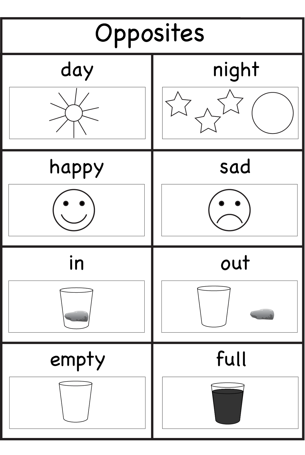 Worksheets For Three Year Olds For School Activity Shelter