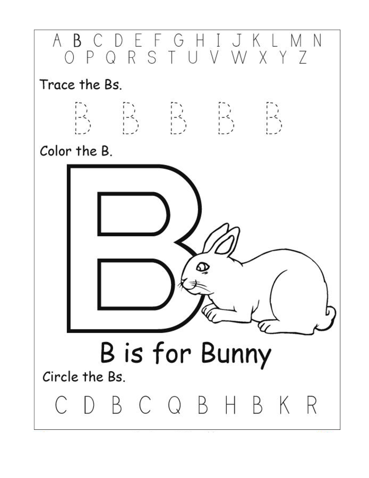 Kindergarten Alphabet Worksheets To Print Activity Shelter Kindergarten Best Free Printable