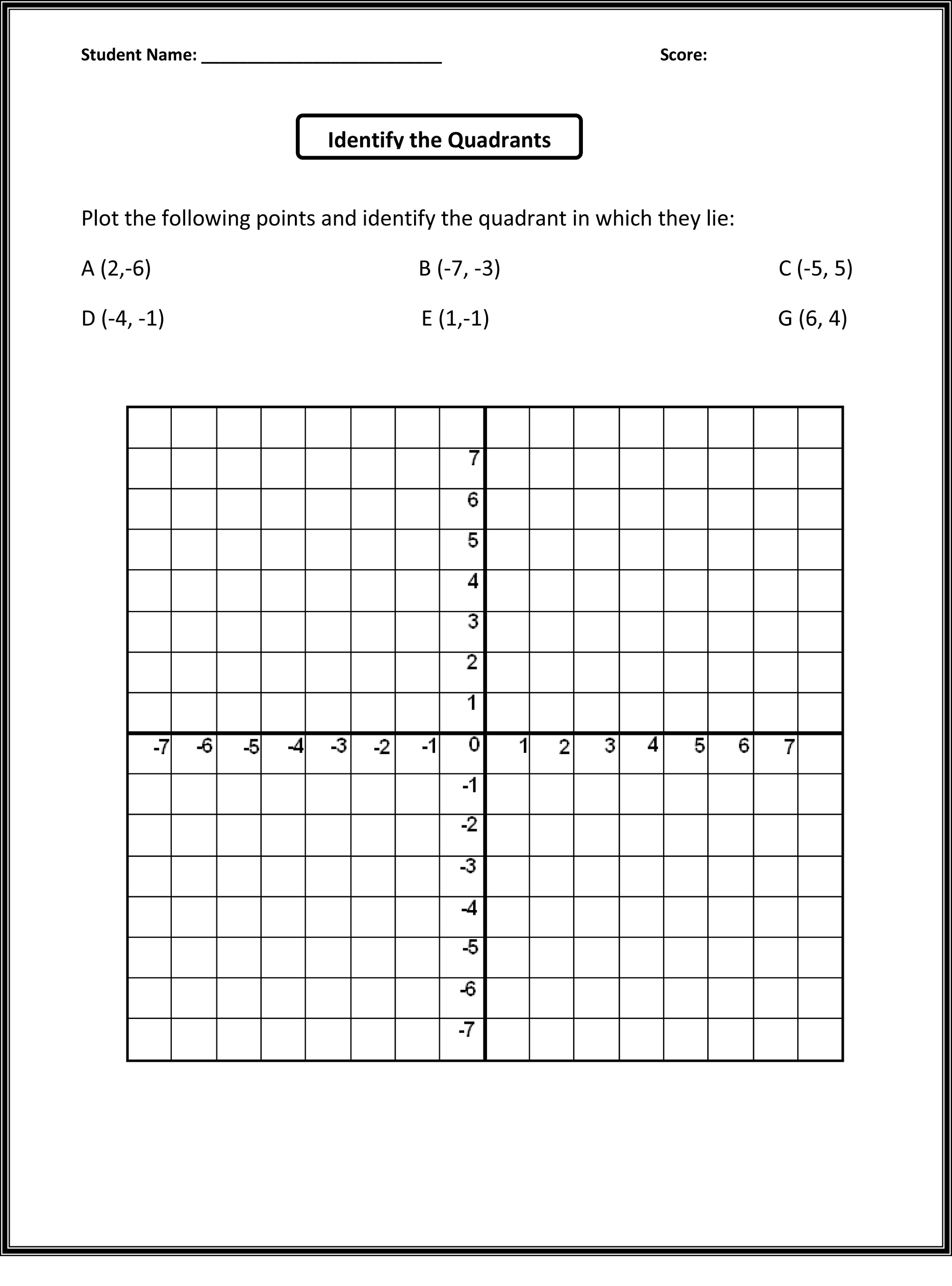28 Grade 9 Math Free Printable Worksheets Printable