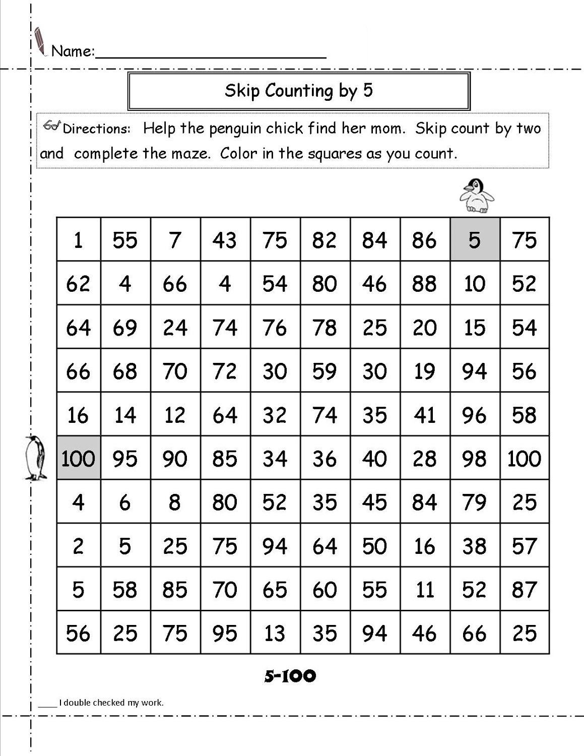 Dad S Math Worksheet