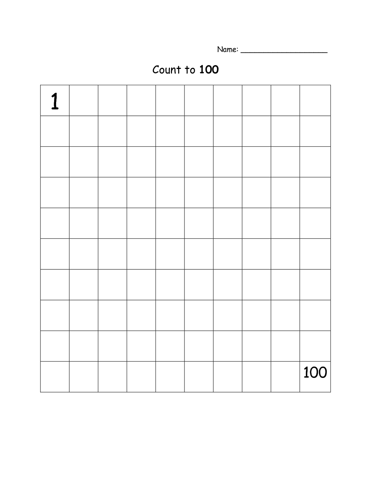 Blank Line Graph Chart Worksheet