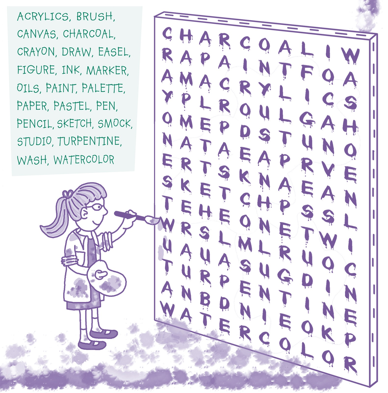 Cool Word Searches To Print