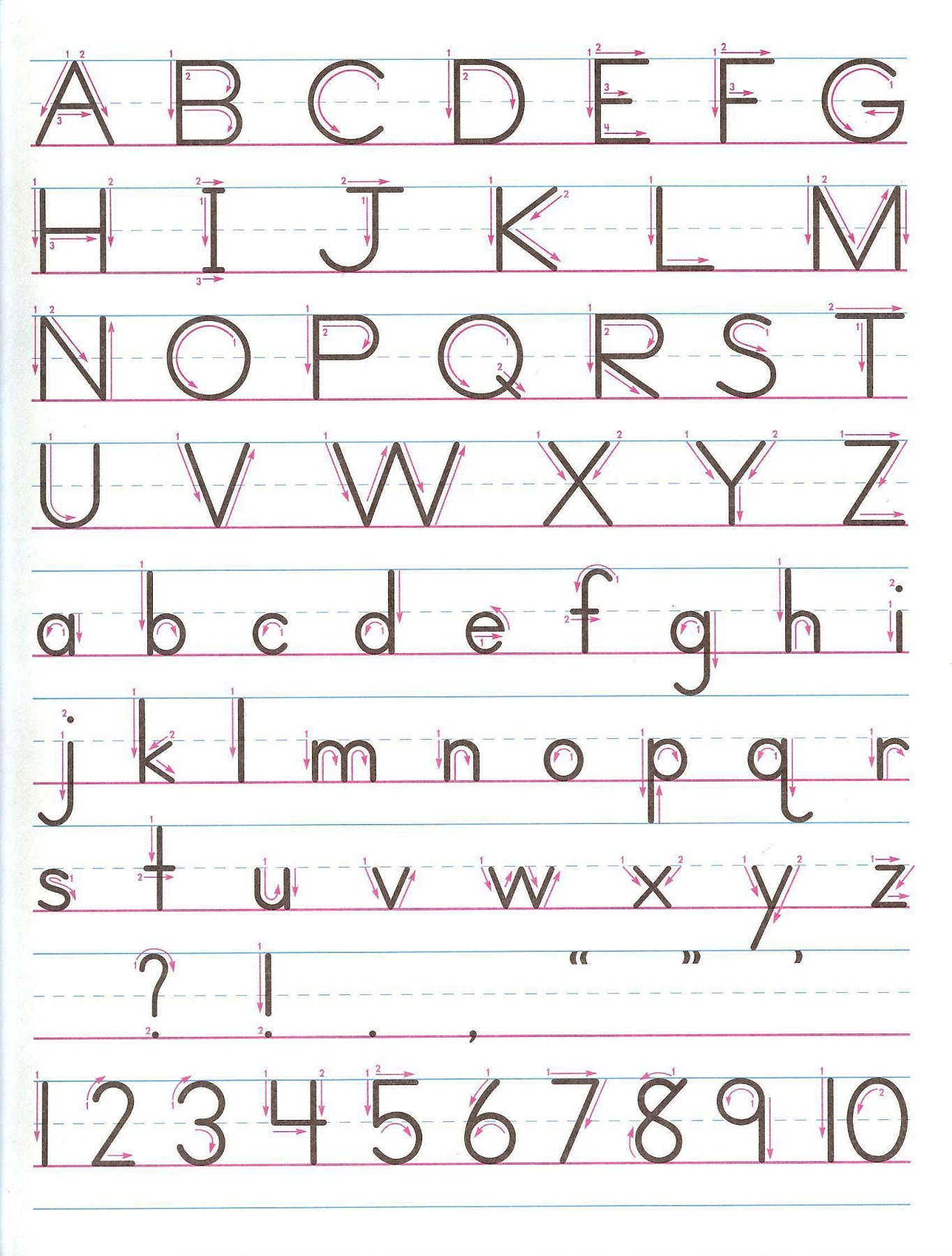 Letters And Numbers For Kids