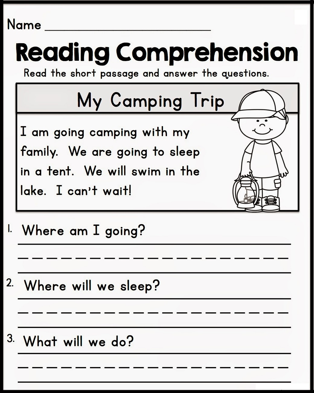 Graduation Literacy Worksheet
