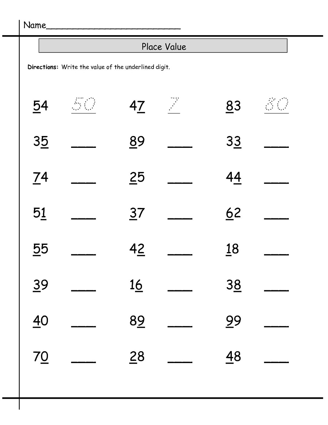 Worksheets For Teaching Students