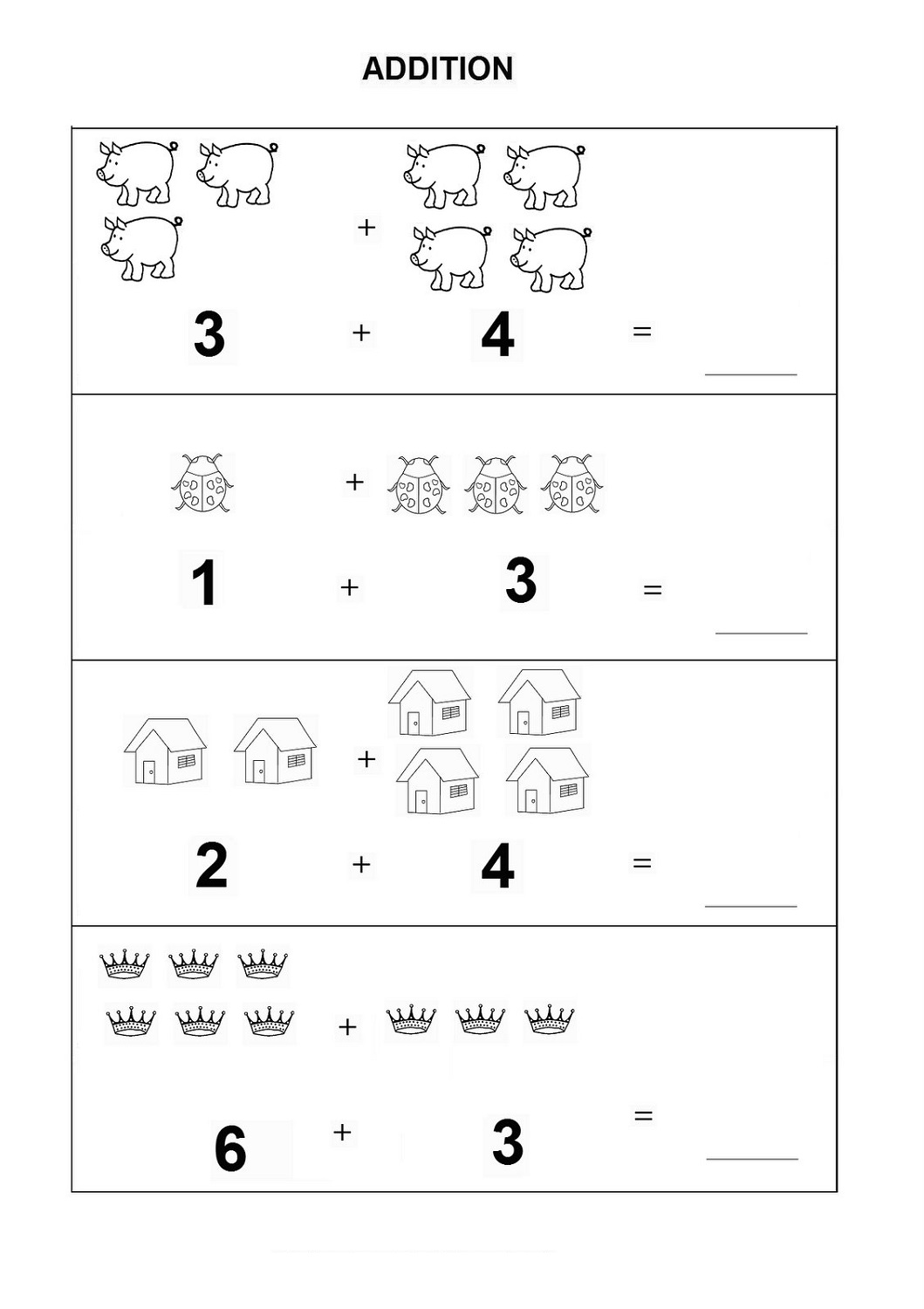 Basic Concepts Printable Worksheet Math