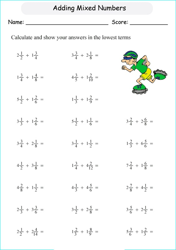 Image Result For Math Exercises Year