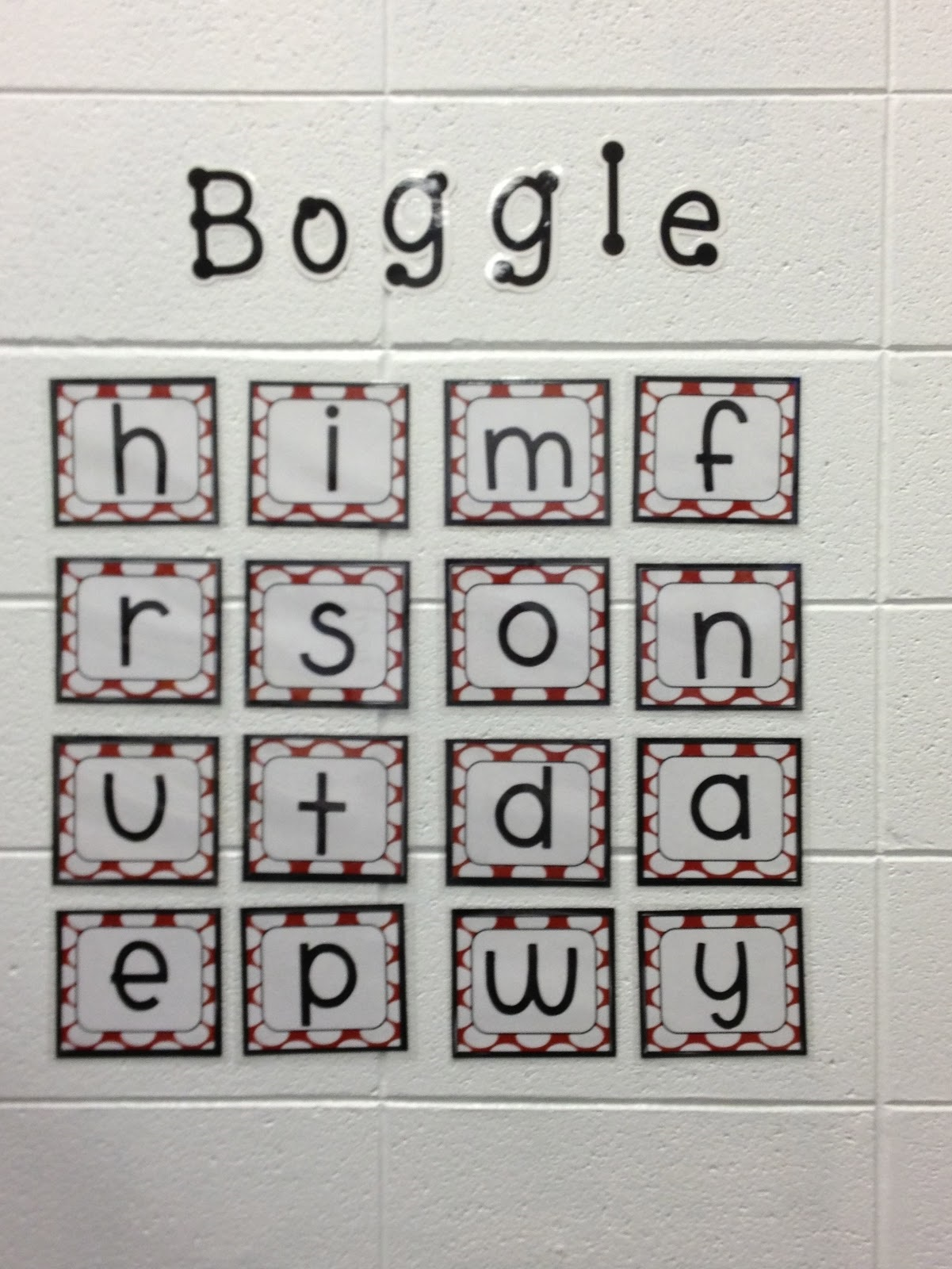 The Game Boggle Sheets To Print