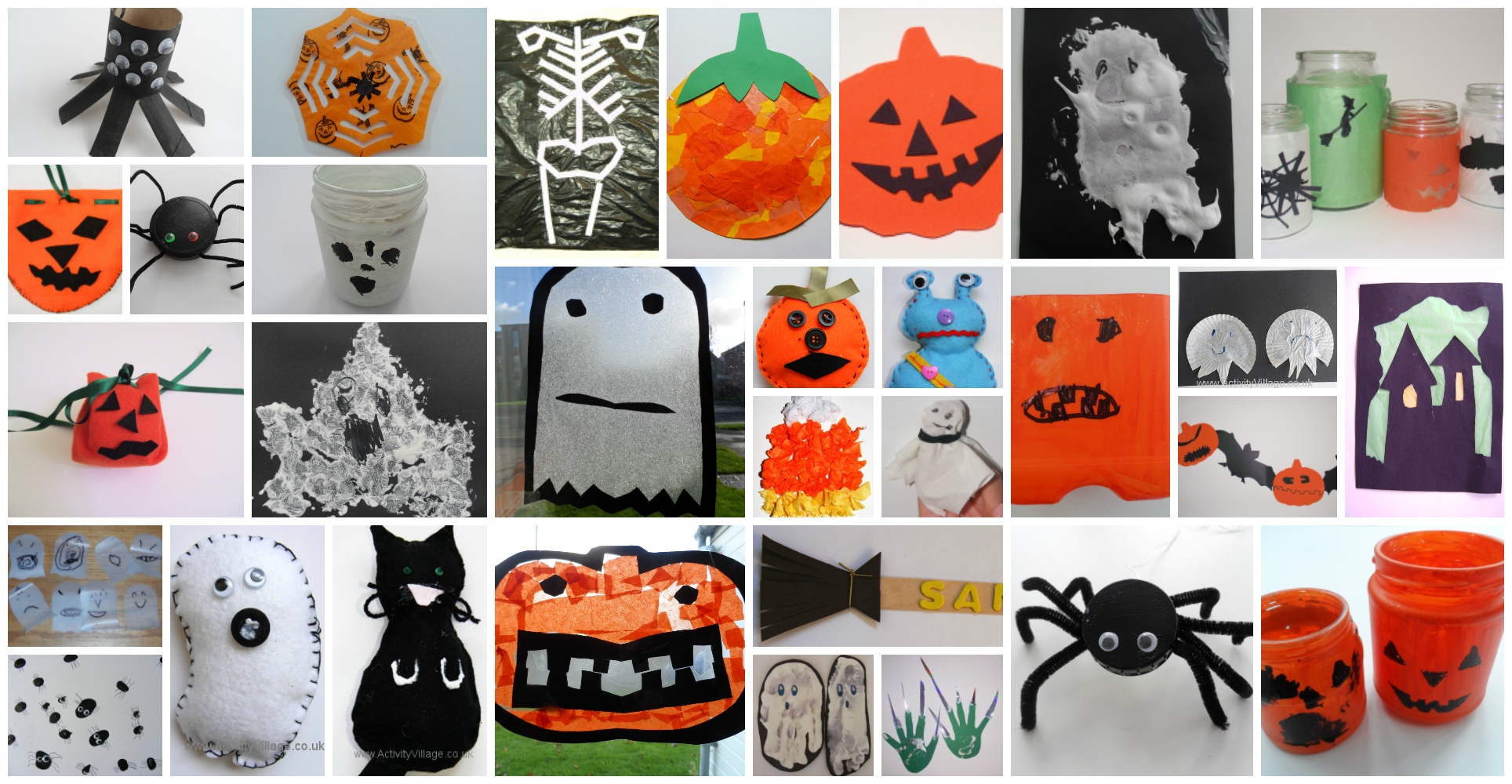 Just A Small Selection Of Our Halloween Crafts