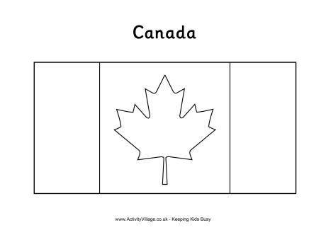canadian flag printables