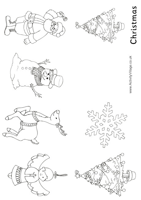 Christmas Colouring Booklet | christmas coloring pages  booklet