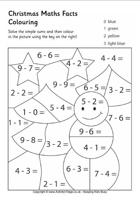 Multiplication Facts Coloring Pages. math coloring pages math ...