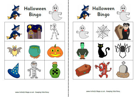 photograph about Printable Haloween Bingo called Halloween Bingo Template. gael s cunning treasures halloween