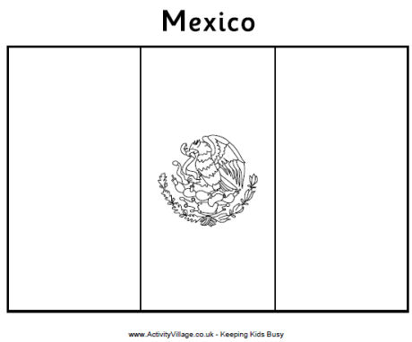 mexico flag printables