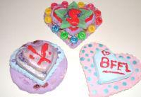 Valentine Salt Dough Plaques