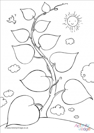 jack and the beanstalk coloring pages # 59