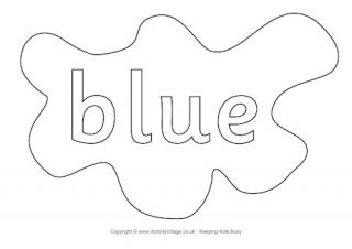 colour colouring pages splats